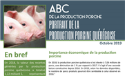 Publications « ABC de la production porcine » - mise à jour de 2 feuillets