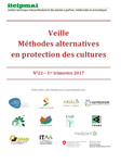 Veille Méthodes alternatives en protection des cultures - bulletin n° 22 1er trimestre 2017